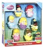 Target Toy Book Fisher-Price Little People Disney Princess Figure - 7 Pack