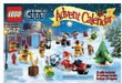 Target Toy Book LEGO City Advent Calendar