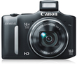 Radio Shack Canon PowerShot SX160 16MP Digital Camera + Free Case & Mem. Card + $20 Back in Coupons