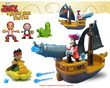 BJs Toy Catalog Fisher-Price Disney Jake and the Never Land Pirates Playset