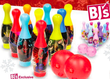 BJs Toy Catalog Favorite Character 12-Piece Bowling Sets