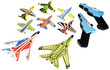 BJs Toy Catalog Kid Galaxy Snap 'n Soar Elite Fleet Set