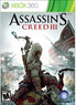 BJs Toy Catalog Assassin's Creed III (Xbox 360)
