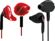 Best Buy Yurbuds - Ironman Series Earphones - Black/Red