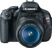 Best Buy Canon EOS Rebel T3i 18MP DSLR Camera w/ 18-55mm Lens
