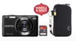 Best Buy Fujifilm FinePix JX520 Camera, 8GB Memory Card & Camera Case