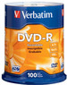 Office Max Verbatim 100-Pack 16x DVD-R Disc Spindle