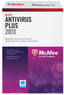 Office Max McAfee Antivirus Plus 2013
