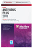 Office Max McAfee Antivirus Plus 2013 - 3 PCs