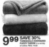 Target Threshold Oversized Fuzzy Throw