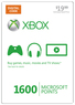 Target XBOX 360 Live 1600 Points Card