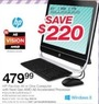 Office Depot HP Pavilion All in One Comuter w/ AMD A6 CPU, 6GB & 1TB HDD