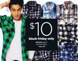 JCPenney Arizona Guys' Flannel Shirts