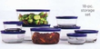 JCPenney Pyrex 18pc Storage Set