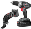 Lowes PORTER-CABLE 18-Volt Drill Driver and Oscillating Tool