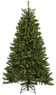 Lowes Holiday Living 6-1/2-ft Spruce Pre-lit Artificial Christmas Tree with Clear Lights