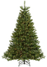 Lowes Holiday Living 6-1/2-ft Pine Pre-lit Artificial Christmas Tree with Clear Lights
