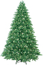 Lowes GE 7.5' Fir Christmas Tree with Clear Lights