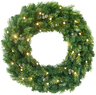 Lowes Holiday Living 30-in Pre-Lit Artificial Christmas Wreath