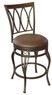 Lowes Hannah Dark Champagne Bronze Counter Stool