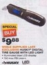 Home Depot Husky Digital Tire Gauge w/ LED Light