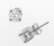 Kohl's Saturday 1 Ct. T.W. Diamond Stud Plus Earrings
