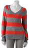 Kohl's Saturday Knit & Woven Tops for Juniors