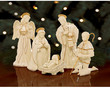 BJs Wholesale Club Lenox Innocence Fine China Nativity Set, Holy Family or Wise Men &amp; Camel
