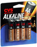 CVS Pharmacy CVS Alkaline AA 4 pack Batteries + $3.65 Extrabucks