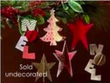 Craft Warehouse 3D Chipboard Ornaments