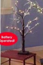 Craft Warehouse 24&quot; Lighted Snowy Branch Tree