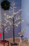 Craft Warehouse 5 ft. Lighted Snowy Brach Tree
