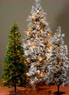 Craft Warehouse 9' Lightly Flocked Tree w/ 700 Clear Lights