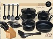 Sears Outlet Chef du Jour 32-pc. Kitchen Combo Set