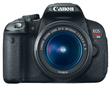 hhgregg Canon EOS Rebel T4i 18MP DSLR Camera w/ 18-55mm Lens, 55-200mm Lens, Camera Bag & 8GB Memory Card
