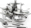 Macys Tools Of The Trade 12-pc. Stainless Steel Cookware Set After Rebate
