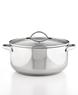 Macys Tools of the Trade Stainless Steel Covered 8-Qt. Casserole