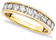 Macys 1 ct. tw. Diamond Ring in 14k Yellow Gold