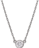 Macys 1/3 ct. tw. Round Diamond Pendant in 14k White Gold