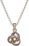 Macys Victoria Townsend 18k Diamond Accent Love Knot Pendant