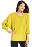 Macys Alfani Long-Sleeve Dolman Ribbed Sweater