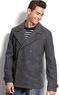 Macys American Rag Men's Peacoat