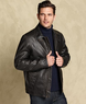 Macys Tommy Hilfiger Men's Vintage Style Faux Leather Jacket