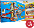 Meijer Hot Wheels Wall Tracks Power Tower Track Set