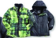 Meijer Zero Xposur Boys' 3-in-1 Systems Jackets