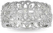 Overstock.com 1/3 ct. tw. Miadora Sterling Silver Diamond Fashion Ring