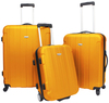 Overstock.com Traveler's Choice Rome 3 Piece Spinner Luggage Set