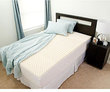 Overstock.com Eco-Friendly Contoured 2&quot; Memory Foam Mattress Topper