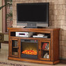 "Big Lots 60"" Media Fireplaces w/ Remote"
