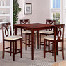 Big Lots 5 Piece Pub Height Dining Set